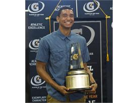 Gatorade National Boys Track and Field Athlete of the Year award presentation