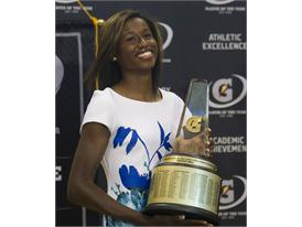Gatorade National Girls Track and Field Athlete of the Year award presentation