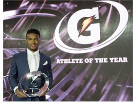 Gatorade Male Athlete of the Year award presentation