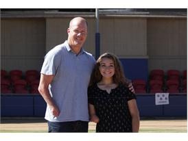 Jaide and Jim Abbott