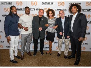 Gatorade Evolution of Football Panel at NFL Draft '15