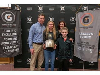 Katelyn Tuohy Named 2018-19 Gatorade National Girls Cross Country Runner of the Year