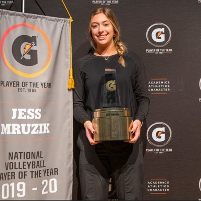 2019-20 Gatorade National Volleyball Player of the Year Award Winner Jess Mruzik
