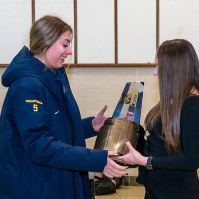 2019-20 Gatorade National Volleyball Player of the Year Award Winner Jess Mruzik