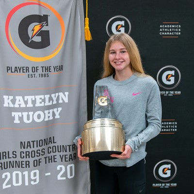 2019-20 Gatorade National Girls Cross Country Runner of the Year Award Winner Katelyn Tuohy