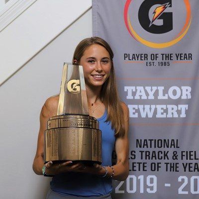 2019-20 Gatorade National Girls Track and Field Athlete of the Year Award Winner Taylor Ewert