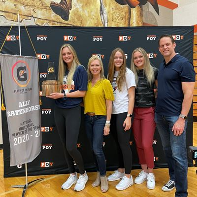 Ally Batenhorst Named 2020-21 Gatorade® National Volleyball Player of the Year