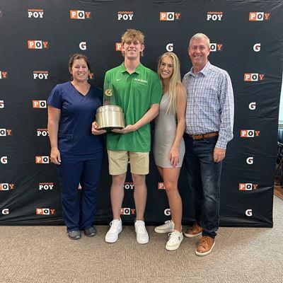 Dylan Lesko Named 2020-21 Gatorade®  National Baseball Player of the Year