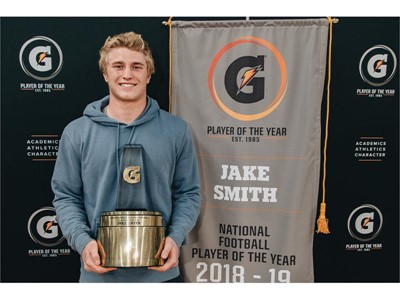Jake Smith: 2018-2019 Gatorade National Football Player of the Year
