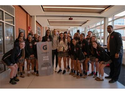 2018-19 Gatorade National Girls Basketball Player of the Year Award Winner Azzi Fudd