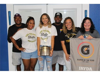 JAYDA COLEMAN NAMED 2019-20 GATORADE® NATIONAL SOFTBALL PLAYER OF THE YEAR