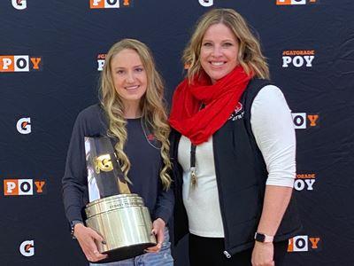 2020-21 Gatorade National Girls Cross Country Player of the Year Award Winner Sydney Thorvaldson