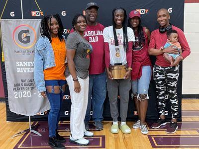 Saniya Rivers Named 2020-21 Gatorade® National Girls Basketball Player of the Year
