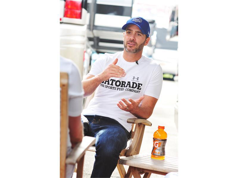 Gatorade <b>Beat the Heat</b>: Jimmie Johnson Rides Watkins Glen
