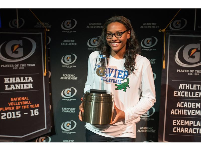 Gatorade : 2015-2016 Gatorade National Volleyball Player of the ...