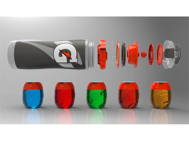 gatorade smart cap bottle with pods