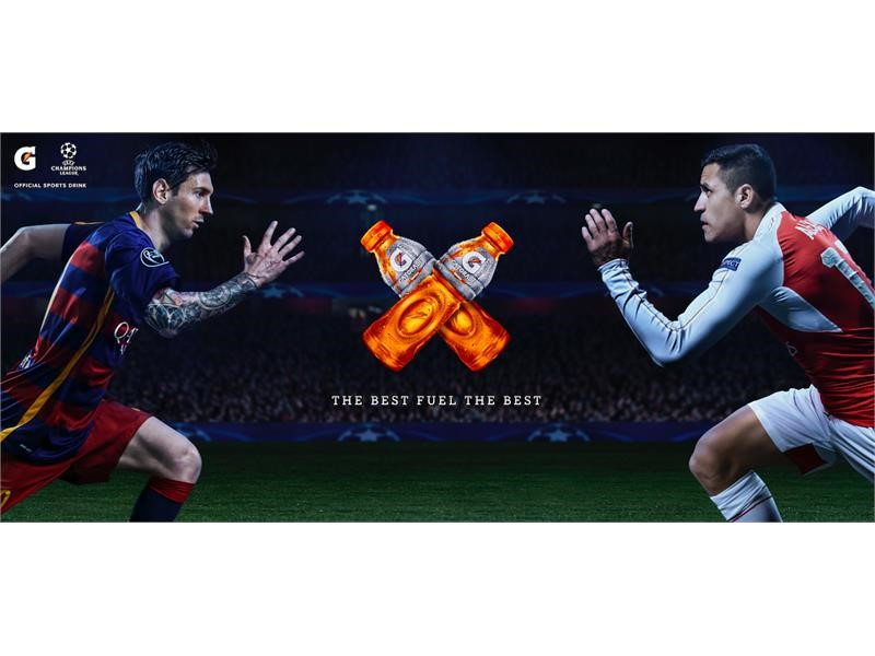 Gatorade Fuels Best - Featuring Lionel Messi and Alexis Sanchez
