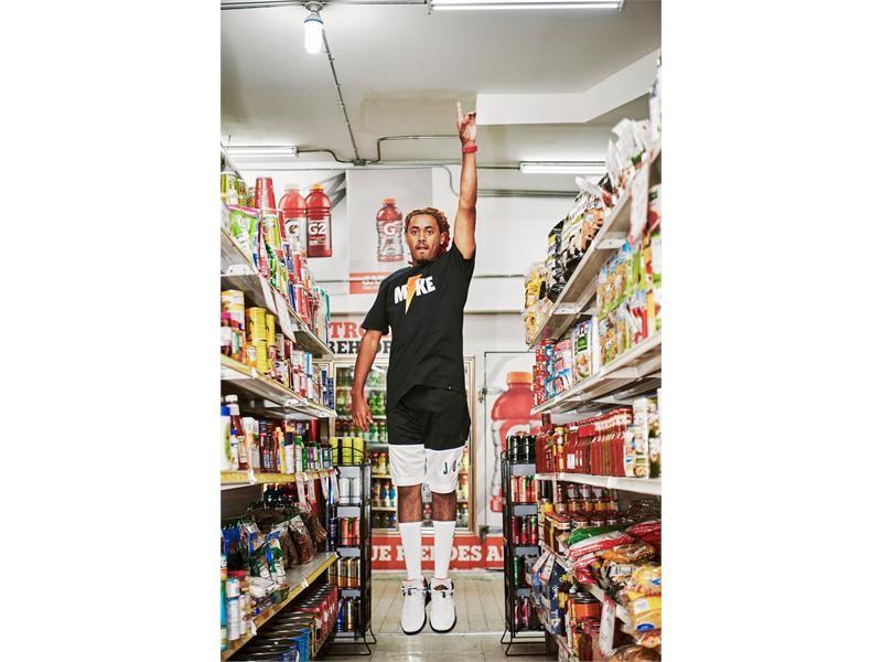 "Gatorade   Gatorade-Jordan Brand ""Like Mike"" Footwear and Apparel ... 7a1499fc8"