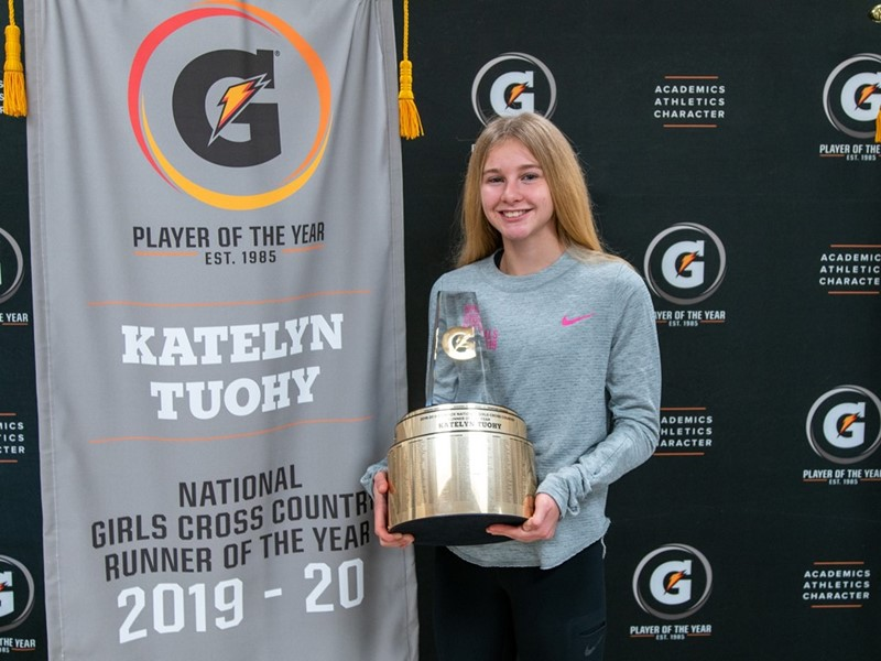 2019-20 Gatorade National Girls Cross Country Runner of the Year Award Winner Katelyn Tuohy