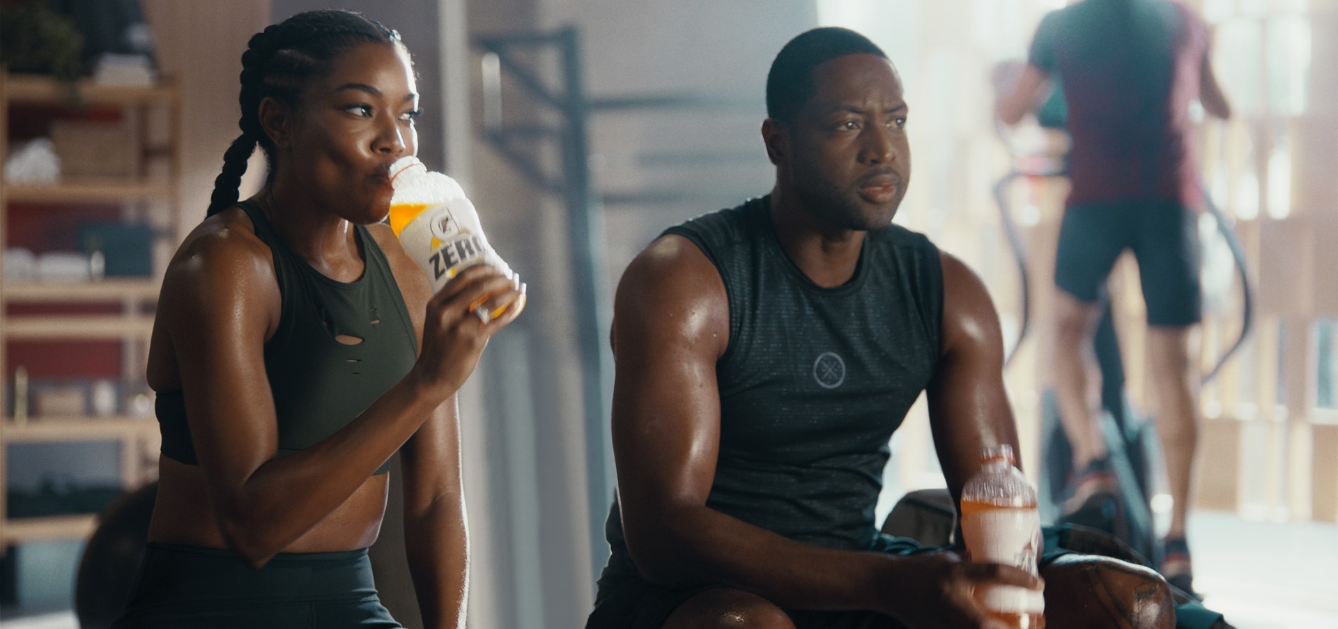 New Gatorade Campaign Finds Dwyane Wade, Gabrielle Union...