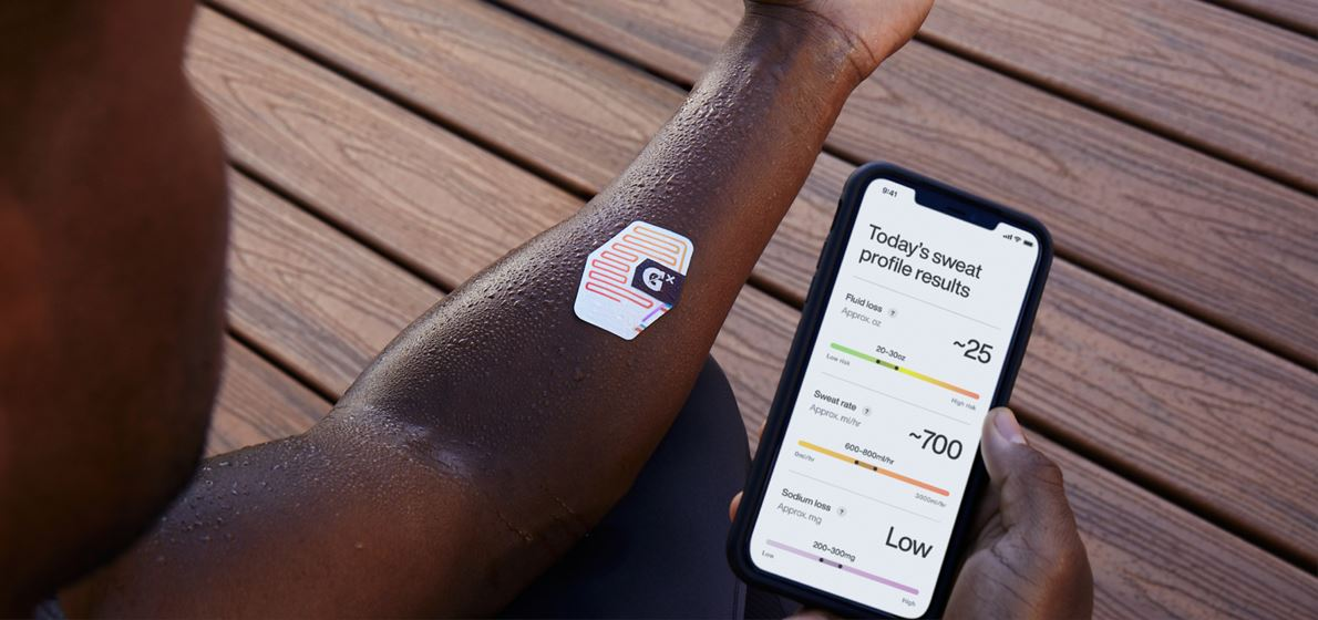 Gatorade Launches First-to-Market Sweat Patch and App