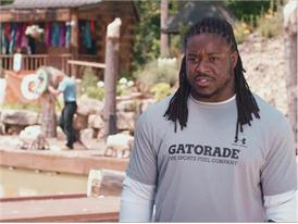 Eddie Lacy talks hydration