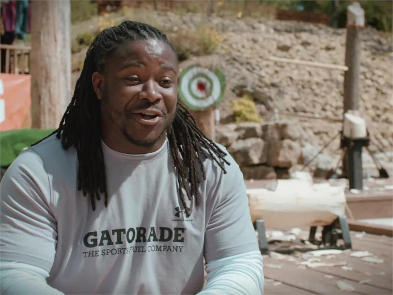 Gatorade : Gatorade <b>Beat the Heat</b>: Lacy the Lumberjack