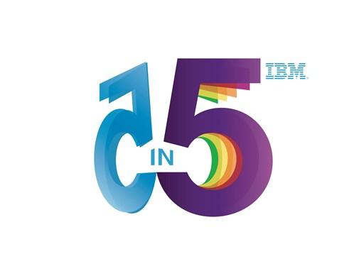 IBM 5 in 5 logo