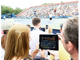 An Immersive Second Screen US Open Experience