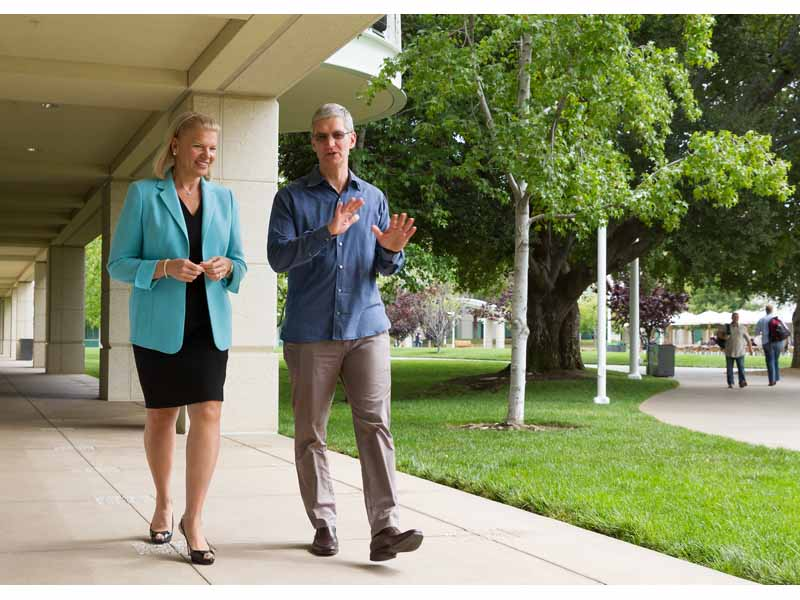 Apple and IBM Announce Global Partnership to Develop Business Apps for iPhone, iPad
