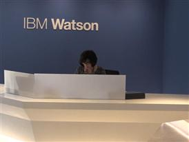 The Watson Experience - IBM Logo