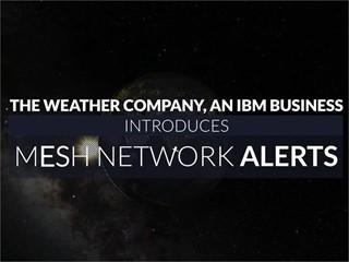 Mesh Network Alerts