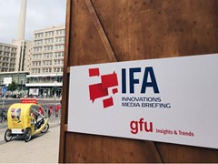 IFA Innovations Media Briefing: Exhibitors exclusively present new trends and innovations in the run-up to IFA 2019