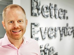 Jon Abrahamsson Ring Managing Director of Inter IKEA Systems B.V.