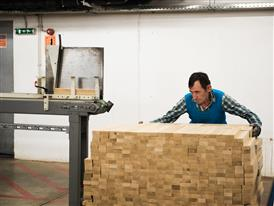 Tibrus Petru works as an operator at Aviva