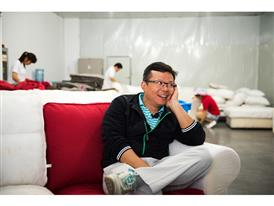 Frank Chen, part owner of the IKEA supplier Hilong
