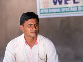 Prahad Bhai Patel, cotton farmer.