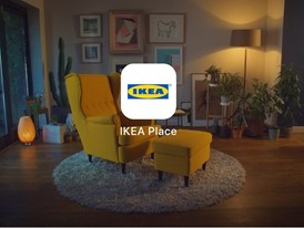 IKEA launches IKEA Place, a new app that allows people to virtually place furniture in their home