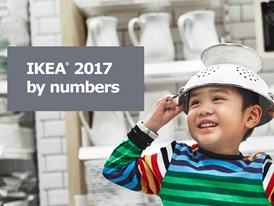 IKEA 2017 by number