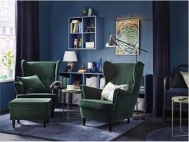 IKEA STRANDMON wingchairs