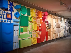IKEA Museum product wall exhibition