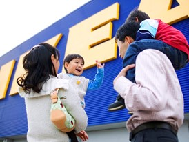 IKEA store and costumer