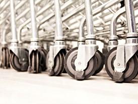 IKEA shopping trolley wheels