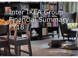 Inter IKEA Group Financial Summary FY18 Cover Image