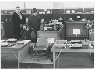 Customers at the first IKEA Store in Älmhult