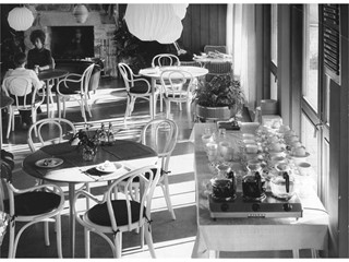 Café at the first IKEA Store in Älmhult