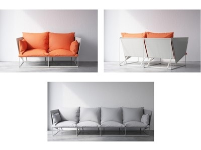 IKEA HAVSTEN outdoor sofa awarded with the Red Dot Award on Product Design