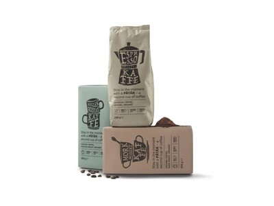 IKEA PÅTÅR coffee packaging design receives the Dieline Awards 2017