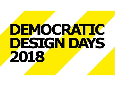 We are live from Democratic Design Days 2018!
