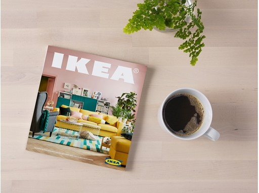 inter ikea group newsroom make room for life the ikea catalogue 2018 is coming. Black Bedroom Furniture Sets. Home Design Ideas